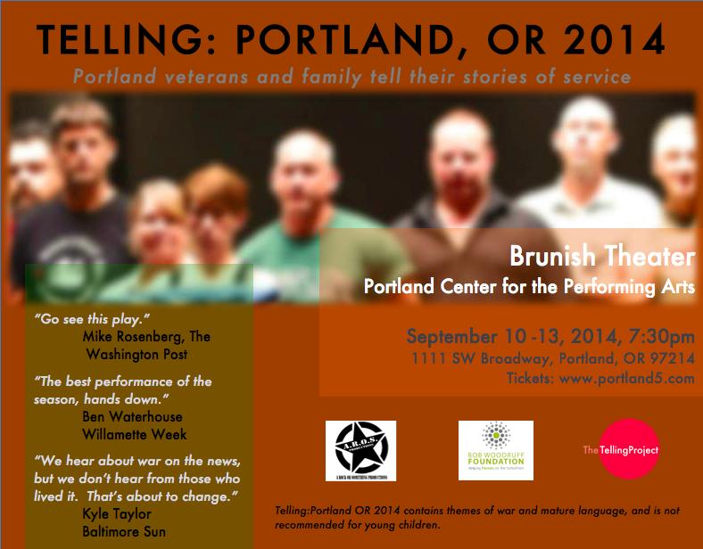 Portland Performance flyer