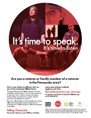 Pensacola recruitment flyer