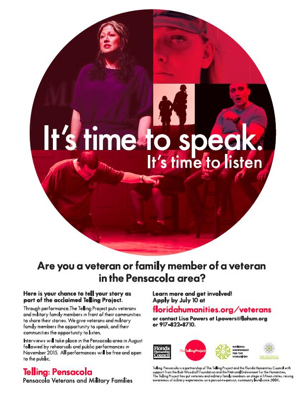 Pensacola recruitment flyer