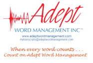 ADEPT_LOGO_TM when every word counts